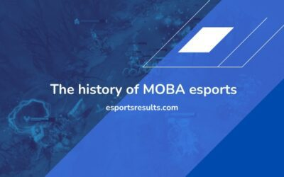 The History of MOBA Esports