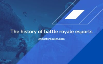 The History of Battle Royale Esports