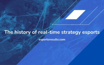 The History of Real-Time Strategy Esports