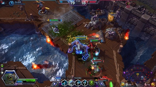 Heroes of the Storm game play