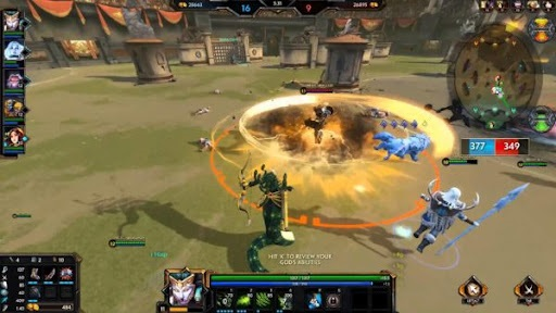 Smite game play