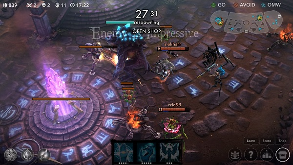 Vainglory game play